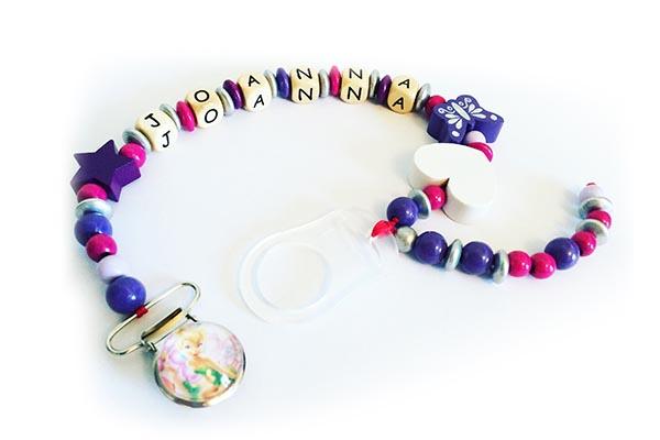 idées cadeaux et décorations attache tétine joanna
