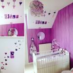 chambre enfant prénom Elena et son initiale