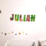 chambre enfant prénom Julian