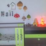 chambre enfant prénom Nail