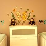chambre enfant prénoms Samy et Mehdi