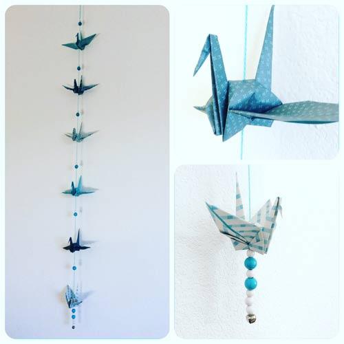 idées cadeaux et décorations guirlande-origami-grues