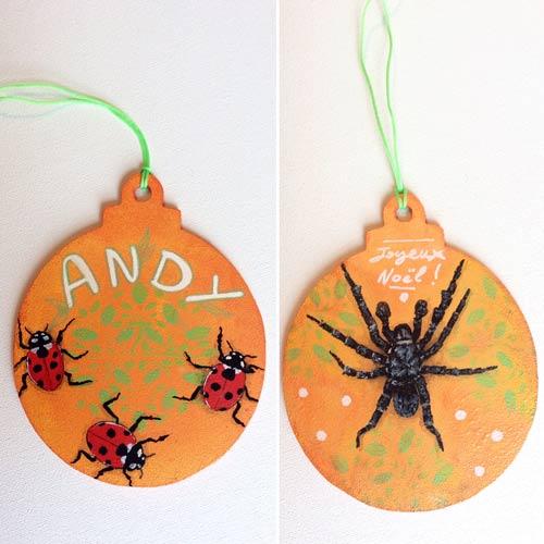 idées cadeaux et décorations de Noël pour Andy