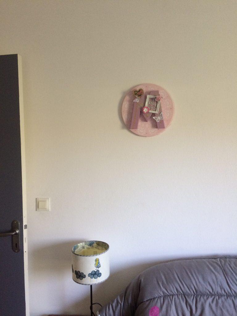 chambre enfant tableau